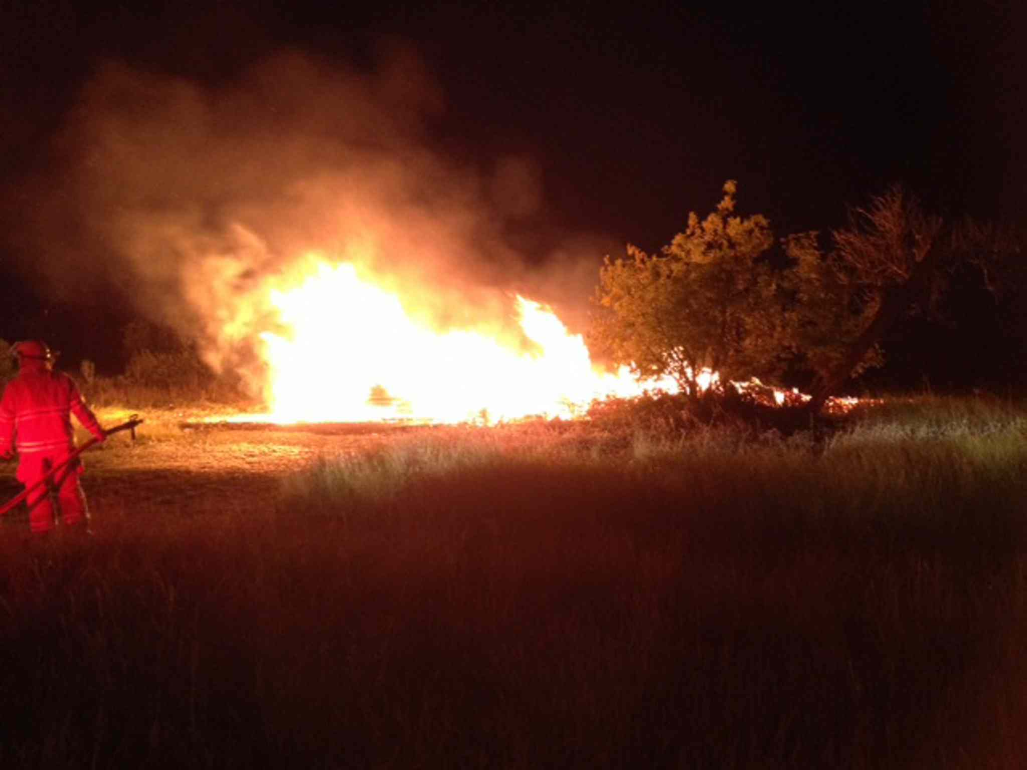 Blue Hills RCMP received a report about a fire at the The Criddle-Vane homestead around 10 p.m. Wednesday